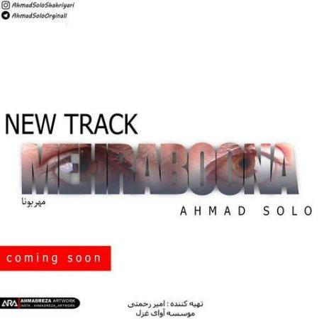 دانلود آهنگ جدید احمد سلو به نام مهربونا
